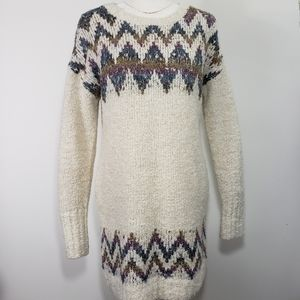 Shrinking Violet Anthropologie Tunic Sweater, Sz L